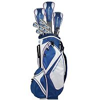 Women's +1 Inch Ray Cook Silver Ray Complete Golf Clubs & Cart Bag Set
