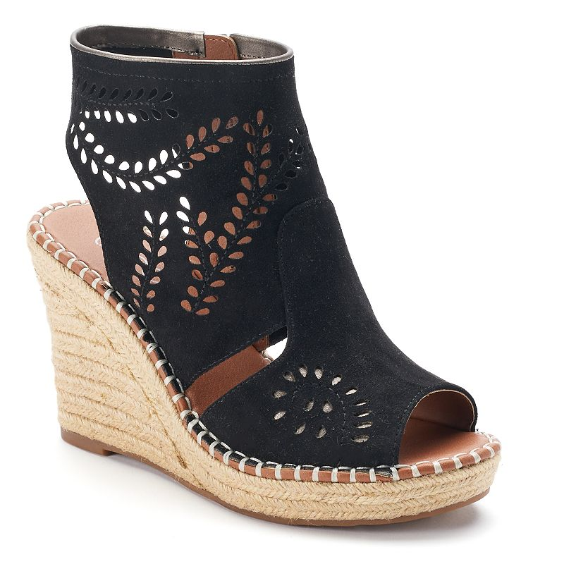 sugar Hope Women's Espadrille Wedge Sandals
