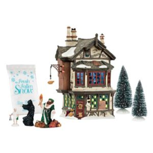 Dept 56 Ebenezer's House Christmas Decor 7-piece Set