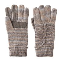 Women's Isotoner Glimmer Marled Tech Gloves