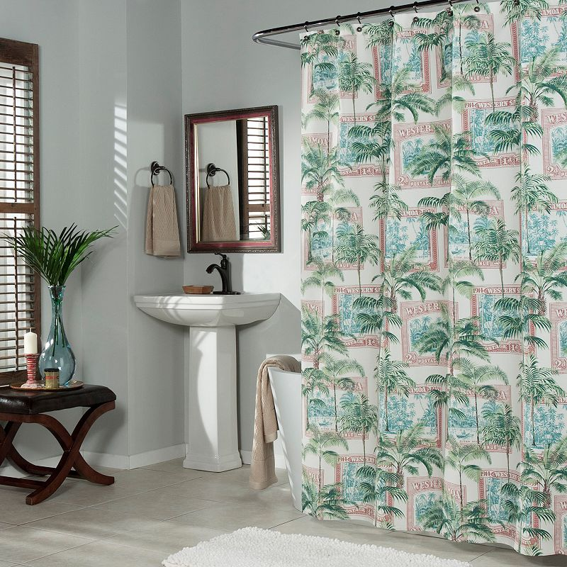 m.style Biscayne Bay Shower Curtain