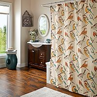 m.style Chirp Shower Curtain