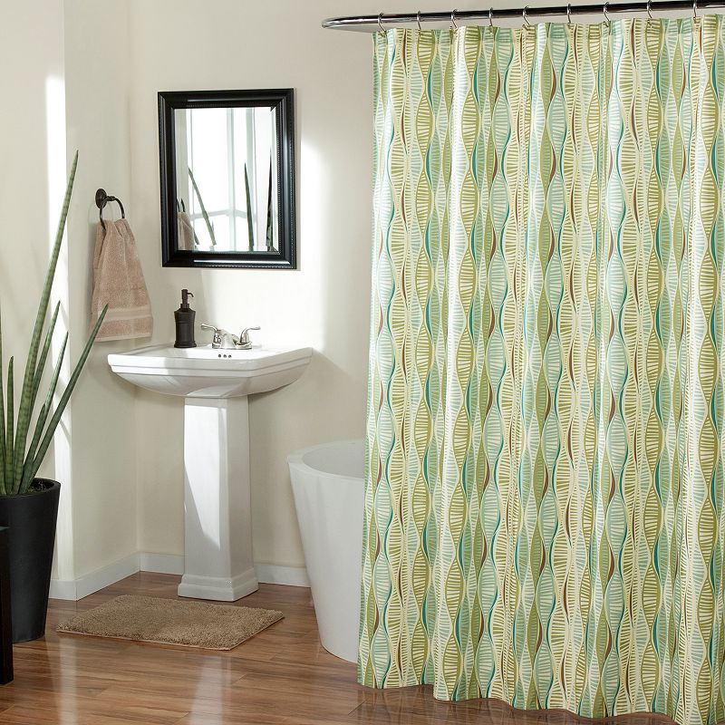 m.style Helix Shower Curtain