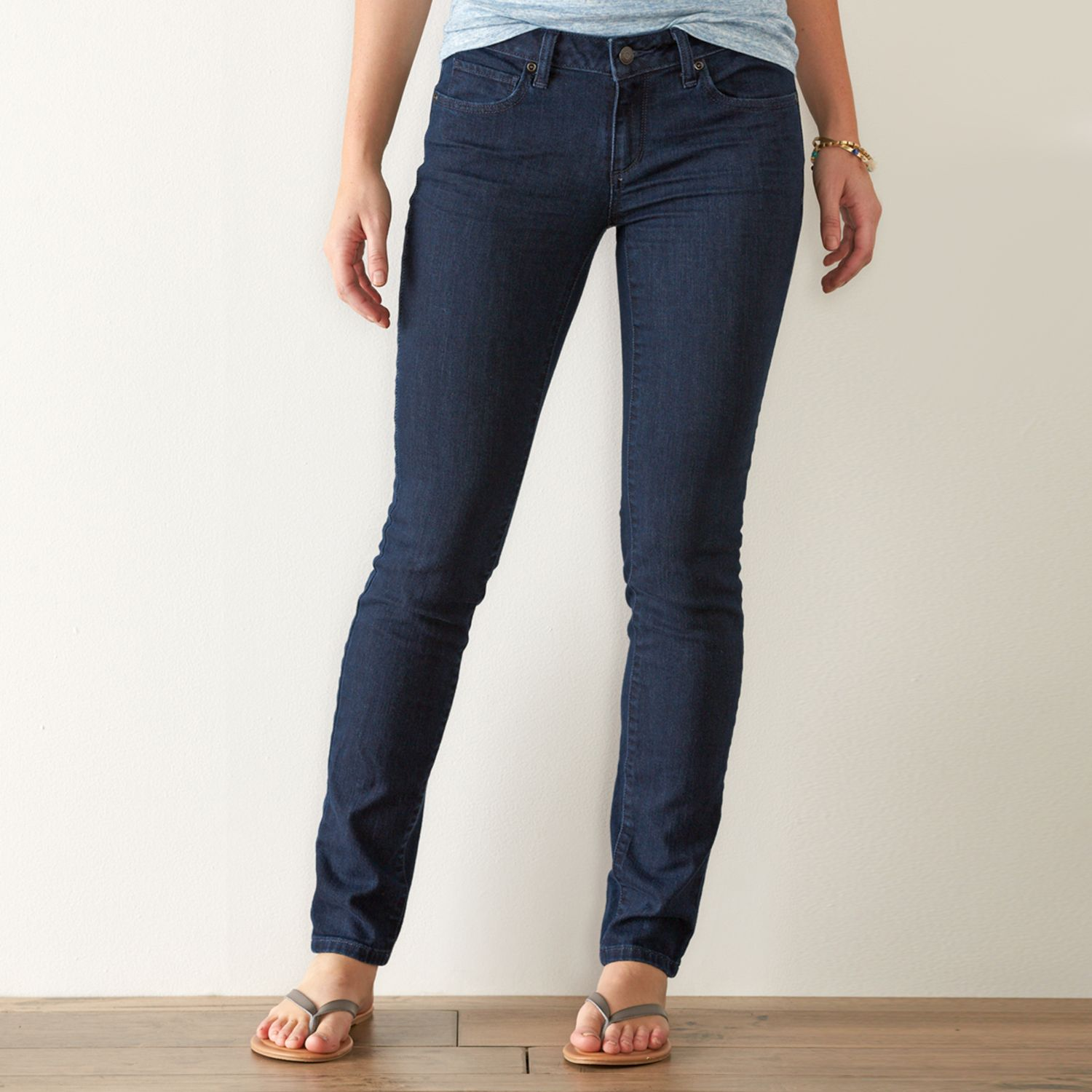 Womens SONOMA Goods for Life? Faded Skinny Jeans