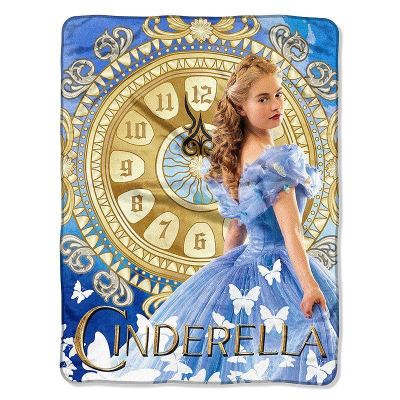 Disney Cinderella Clock Strikes Throw