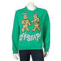 Men's Ugly Christmas Gingerbread Man Sweatshirt