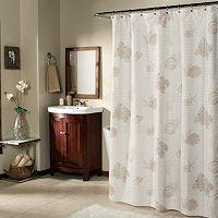 m.style Seaside Script Shower Curtain