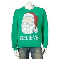 Men's Ugly Christmas Santa Claus Sweatshirt