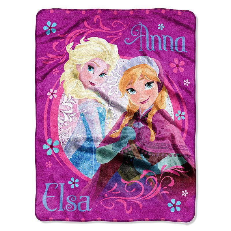 Disney's Frozen Loving Sisters Throw