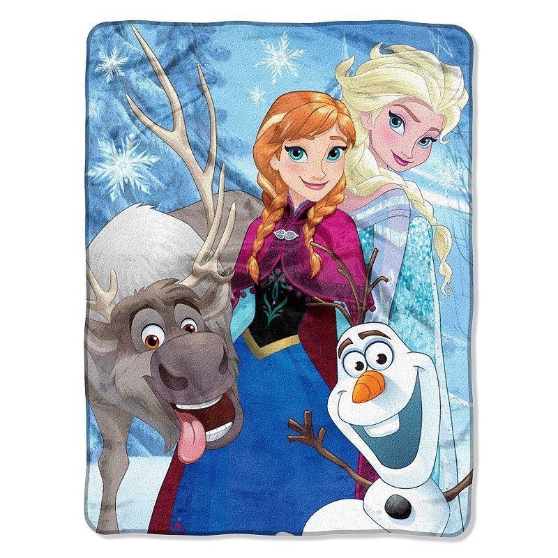 Disney's Frozen Winter Bunch Throw