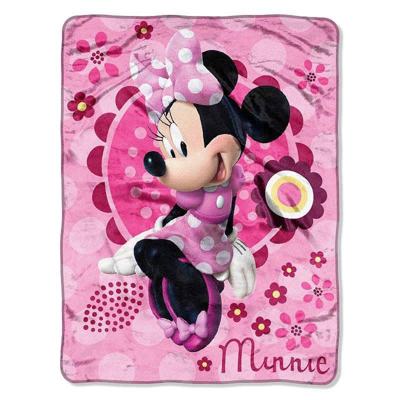 Disney Disney Minnie Mouse's Bow-Tique Throw