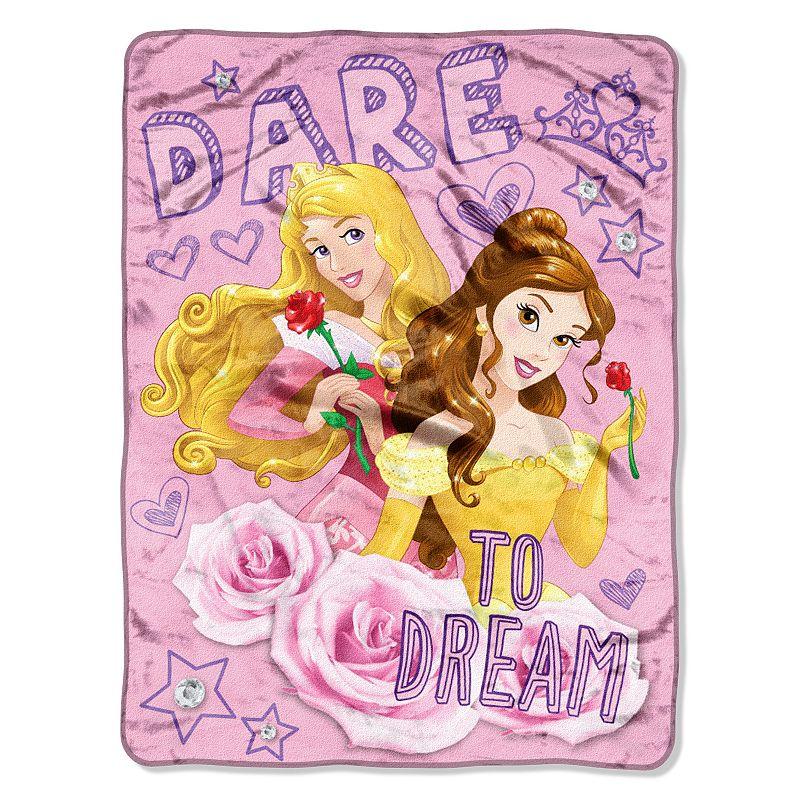 Disney Princess ''Dare To Dream'' Throw