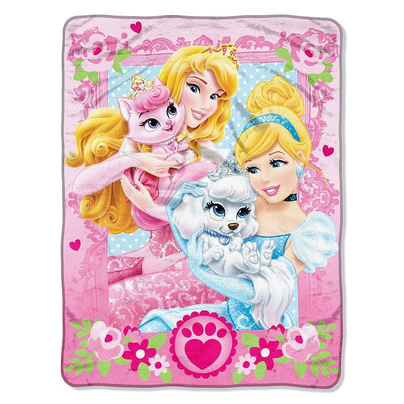 Disney Princess Palace Pets Throw