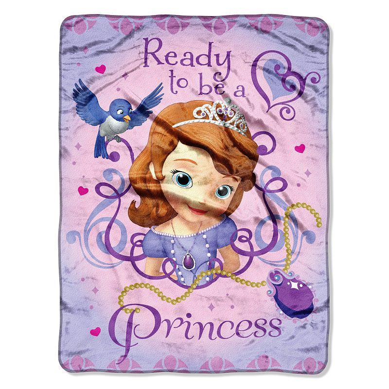 Disney Sofia The First ''Ready To Be A Princes'' Throw