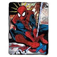 Marvel Spiderman Spider Origins Throw