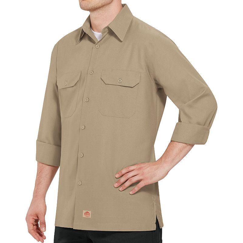 Big & Tall Red Kap Classic-Fit Ripstop Work Shirt