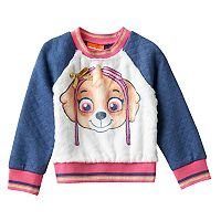 Toddler Girl Paw Patrol Skye Furry Fleece Graphic Pullover