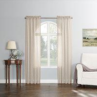 No918 Fantina Sheer Novelty Curtain