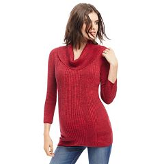 Maternity Oh Baby by Motherhood Ribbed Cowlneck Sweater