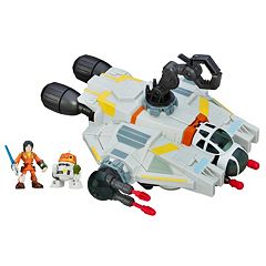 Star Wars Galactic Heroes The Ghost, Ezra & Chopper Set by Hasbro by
