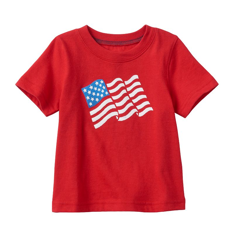 Baby Boy Jumping Beans® Patriotic Graphic Tee