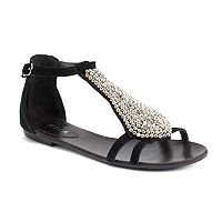 NYLA Therow Women's Leather Sandals