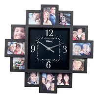 Waltham Square Photo Wall Clock