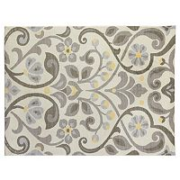 SPACES Home & Beyond by Welspun Scroll Neutrals Rug