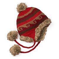 Women's SIJJL Wool Faux-Fur Trapper Hat