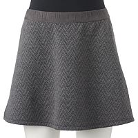 Juniors' Candie's® Chevron Quilted Skirt