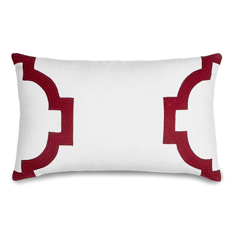 Jill Rosenwald Copley Hampton Links Throw Pillow