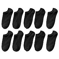 Women's SONOMA Goods for Life™ 10-pk. Solid No-Show Socks
