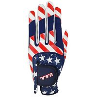 Adult Ray Cook USA Flag Right Hand Multi-Fit Golf Glove
