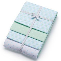 Baby Carter's 4-pk. Print Receiving Blankets by