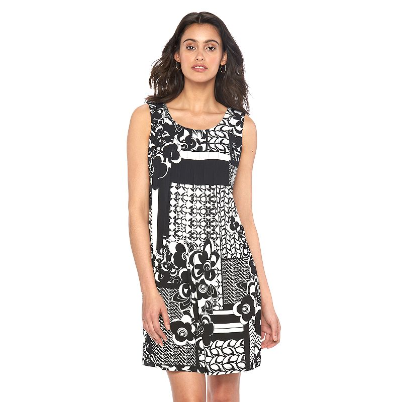 Women's Ronni Nicole Pintuck Shift Dress