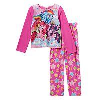 Girls 4-10 My Little Pony Fleece Lovely Pajama Set