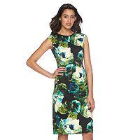 Women's Suite 7 Floral Sheath Dress