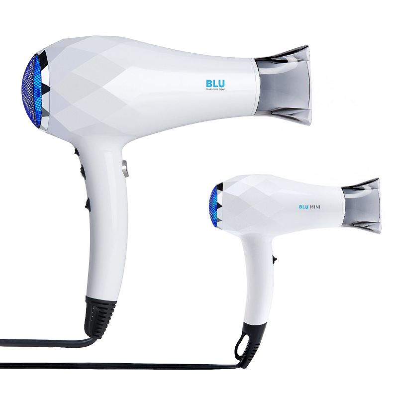 InStyler BLU Turbo Ionic Hair Dryer, White