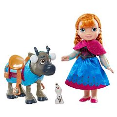 Disney's Frozen Anna, Sven & Olaf 3-pc. Toddler Doll Set