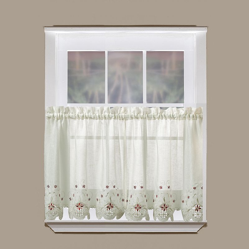 Today's Curtain Sunshine Sheer 2-pk. Tier Curtains