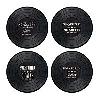Protocol On The Record 4-Pack Drink Coasters
