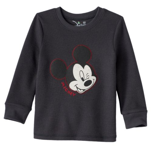 Disney's Mickey Mouse Toddler Boy Faded Graphic Flatback Thermal Tee by Jumping Beans®