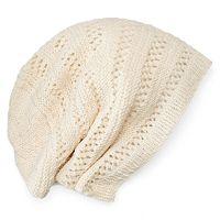 Women's SIJJL Wool Oversized Knit Beanie