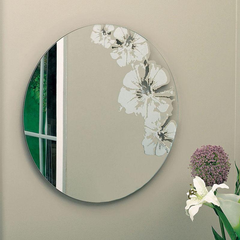 Nexxt Flaunt Round Floral Mirror