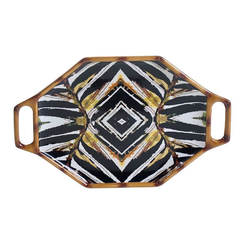 Tracy Porter Imperial Bengal Rectangular Platter with Handles
