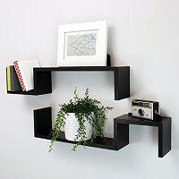 Nexxt Sila Wall Shelf 2-piece Set
