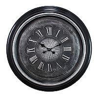 Kiera Grace Genoa Brushed Wall Clock