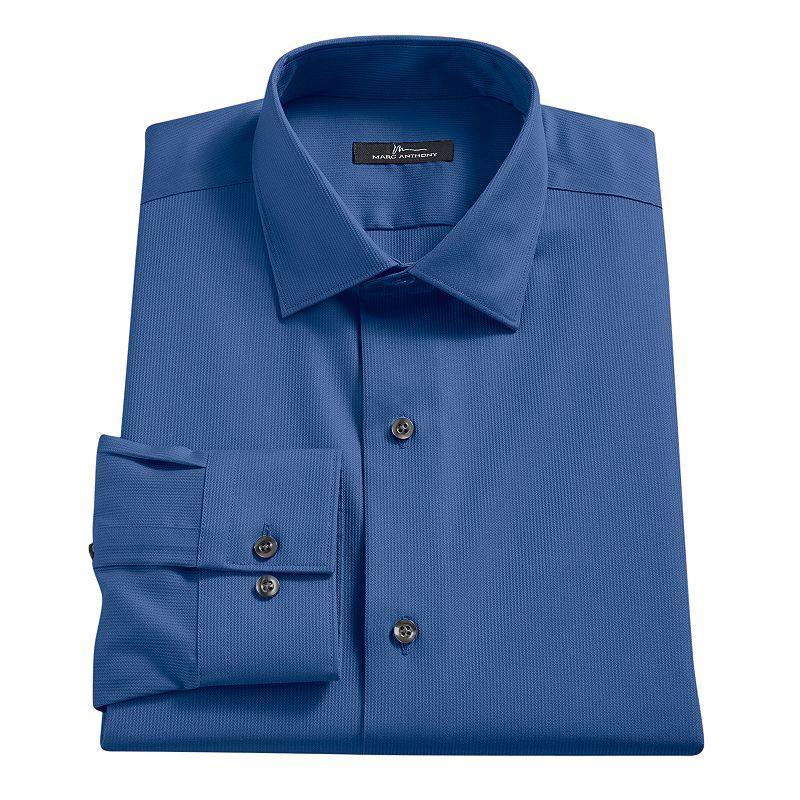 Men 39 s marc anthony slim fit no iron dress shirt dealtrend for Men s no iron dress shirts