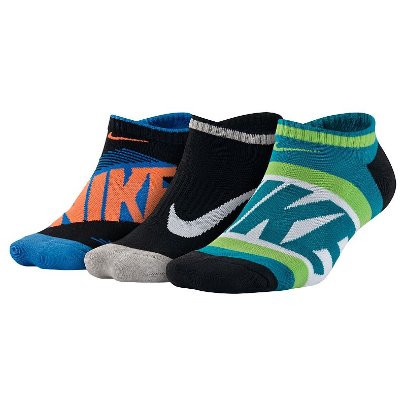 Boys Nike 3-pack No-Show Socks