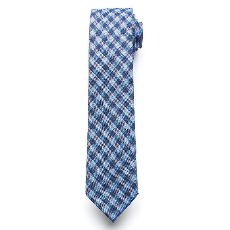 Men's Van Heusen Slim Denim Patterned Skinny Tie